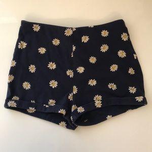 Forever 21 High Waisted Daisy Shorts